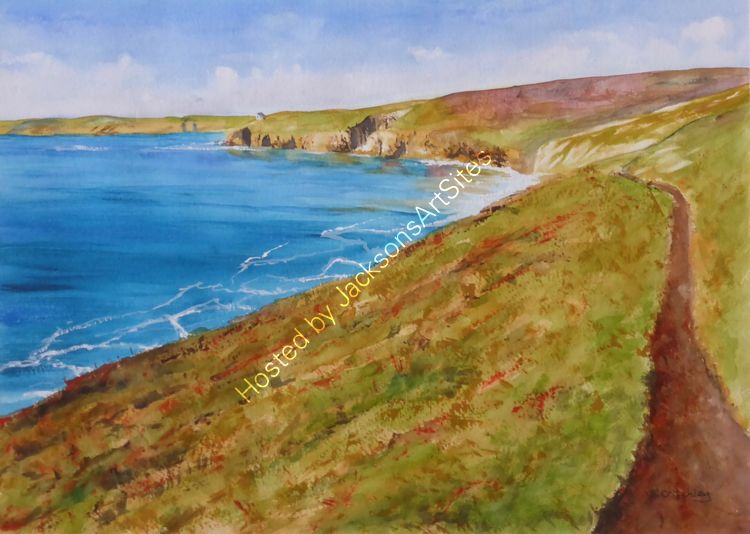 Walking to Rinsey Head