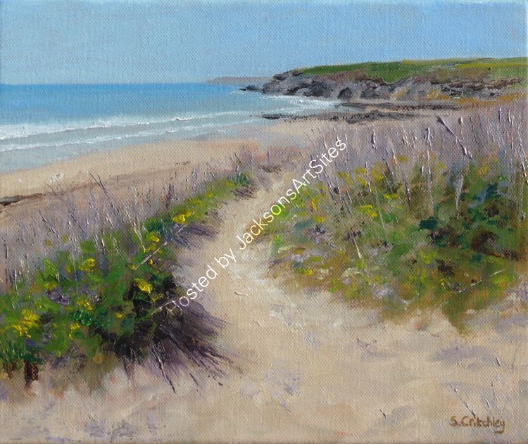 Shadows in the dunes, Praa Sands