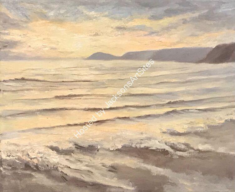 Pastel sunset, Sennen