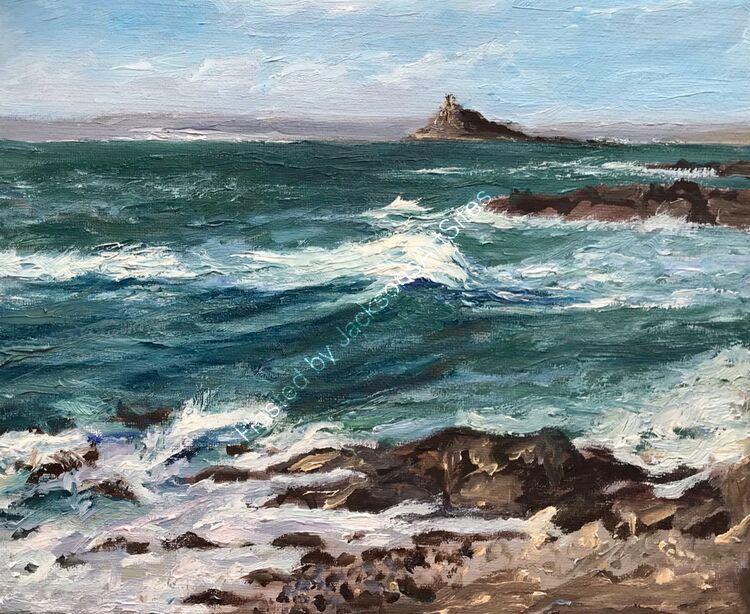 Rolling sea, Mounts Bay