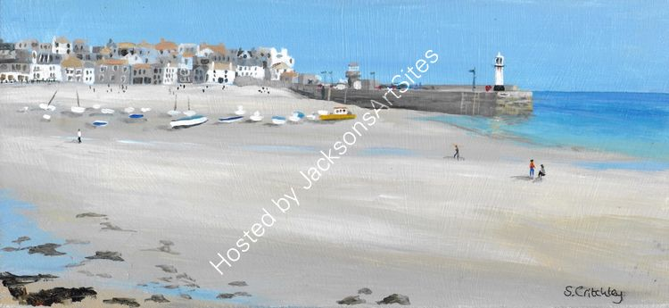 Tide is out again, St Ives