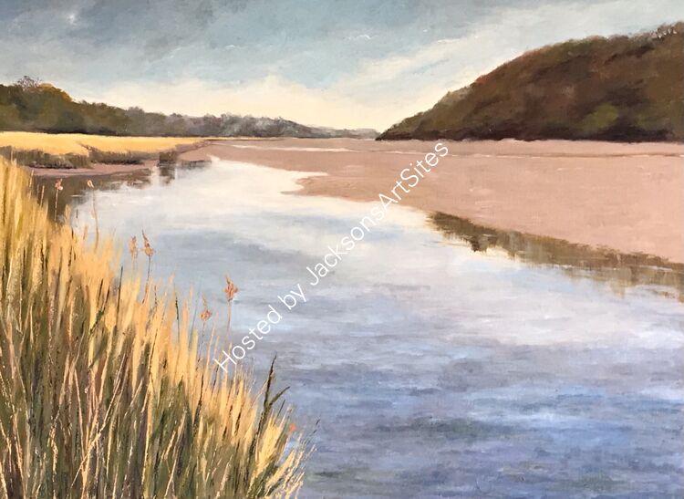 Rising tide, Tresillian River