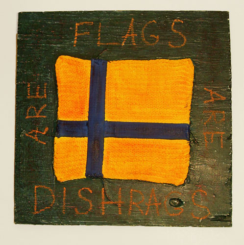 Flags Are Dishrags