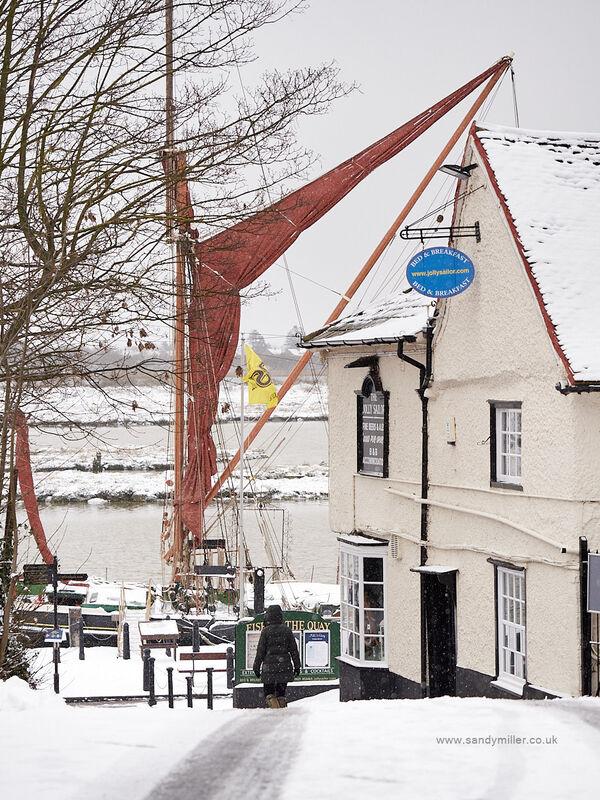 Snow on the Hythe