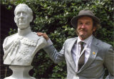 Artist and Sculpture of Charles