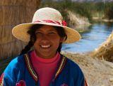 Floating Village Lake Titicaca Peru