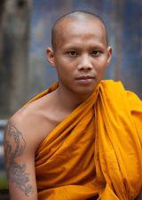 Buddhist Monk - Angkor Wat