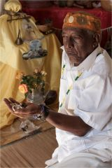 Santeria Shaman Trinidad – a Caribbean religion composed of elements from both traditional African religion and Roman Catholicism