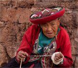 Old woman Peru