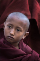Young Monk at the Festival of Ananda