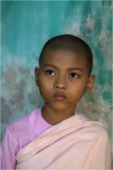Young Nun - Mandalay