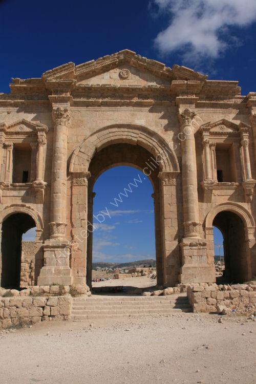 Hadrians Arch, Jerash