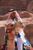 Bedouin Arab at Petra