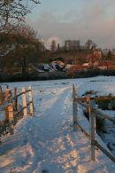 Parsonage Farm in Winter