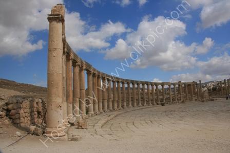Roman Forum, Jerash