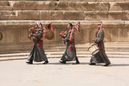 Musicians in Jerash