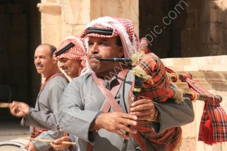Musicians, Jerash, Jordan