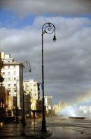 Malecon in Storm,Havana