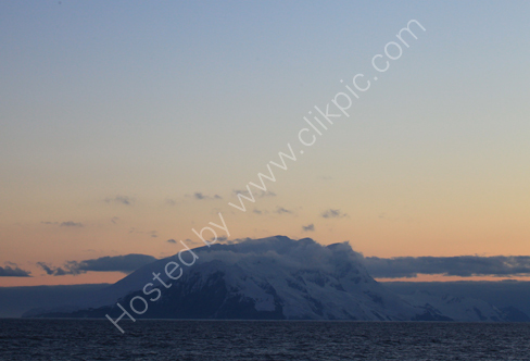 Elephant Island at Sunset