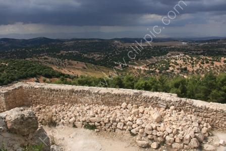 Landscape from Ajlun Castle