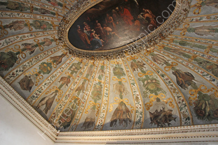 Vaulted Ceiling in Palazzo Grimani