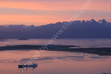 Ushuaia at Sunrise