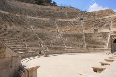 The Roman Amphitheatre, Amman