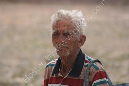 Elderly Man in Cuba