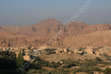Hills of Petra at Sunrise