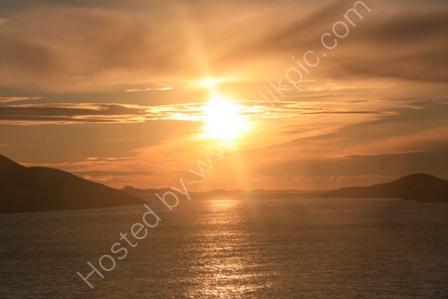 Sunset over Hepsoya