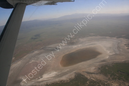 Ngorongoro Crater from Air