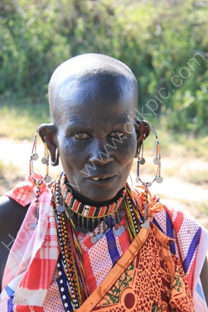 Masai Woman,Serengeti