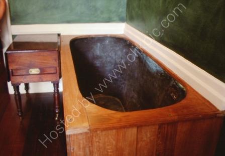 Napoleon's Bath Tub, Longwood Hse