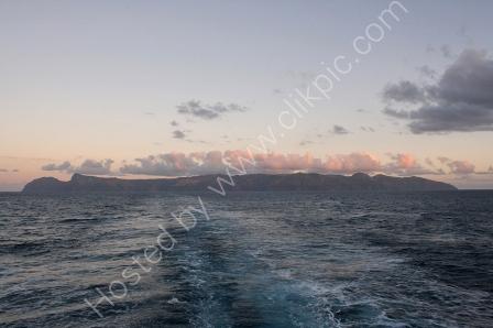 St Helena at Sunset