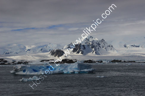 Scenery in the Argentinian Islands