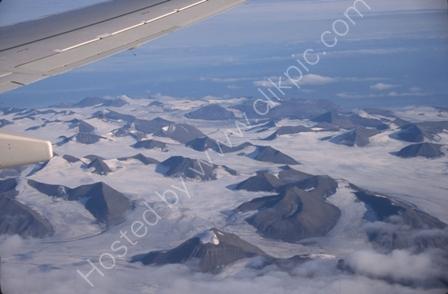 Spitsbergen from Air