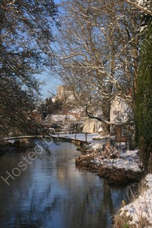 River Wylye in Winter