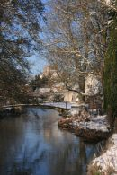 River Wylye in Winter