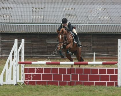 Show jumping at a Horse Trials