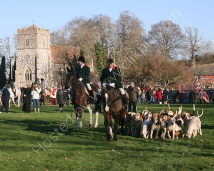 Royal Artillery Foxhounds