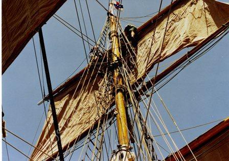 Furling the sails