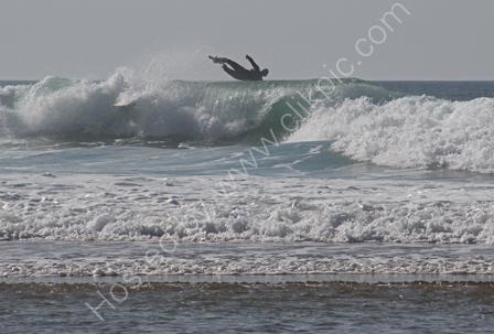 """Surfer """"Getting Some Air""""!"""