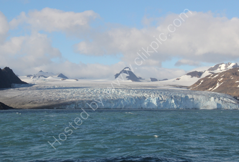 Glacier at Fortuna Bay