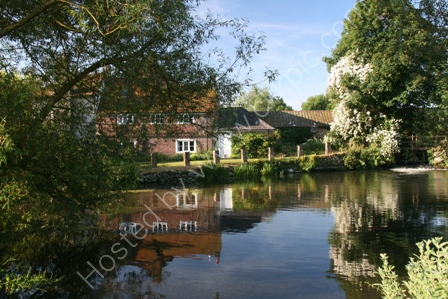 Reflections in the Mill Pool