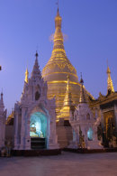Shwedagon Pagoda at Dawn