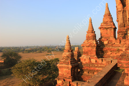 Sunrise from North Guni Temple in Bagan