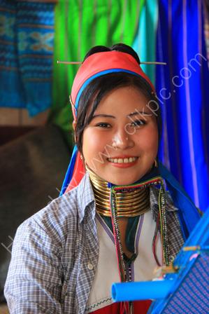 Young Padaung Woman