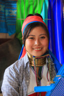 Young Padaung Woman