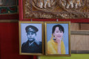 Portraits of two Burmese Icons