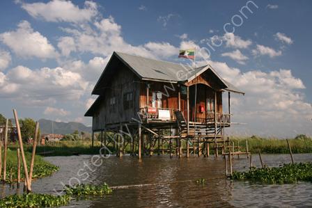 Village Post Office on Inle Lake